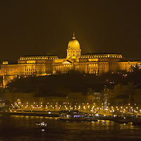 Photo of the Royal Castle during the Earth Hour in Budapest, Hungary on March 23, 2013. ATTILA VOLGYI