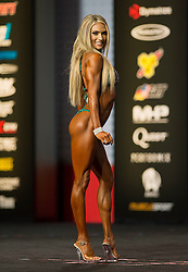 Sept.16, 2016 - Las Vegas, Nevada, U.S. -  ALYSSA GERMEROTH competes in the Bikini Olympia contest during Joe Weider's Olympia Fitness and Performance Weekend.(Credit Image: © Brian Cahn via ZUMA Wire)