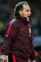 Atletico de Madrid's physical trainer Oscar Ezequiel El Profe Ortega during La Liga match. February 4,2016. (ALTERPHOTOS/Acero)