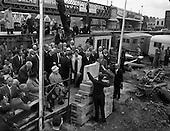 1962 - Liberty Hall foundation stone laid