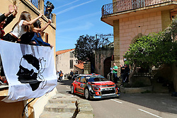 April 7, 2018 - Corse, France - CORSICA Linea - TOUR DE CORSE 2018 Sebastien LOEB, Daniel ELENA CITROEN C3 WRC (Credit Image: © Panoramic via ZUMA Press)