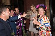 ED VAIZEY; ROBIN WIGHT, V & A Summer party. South Kensington. London. 22 June 2016