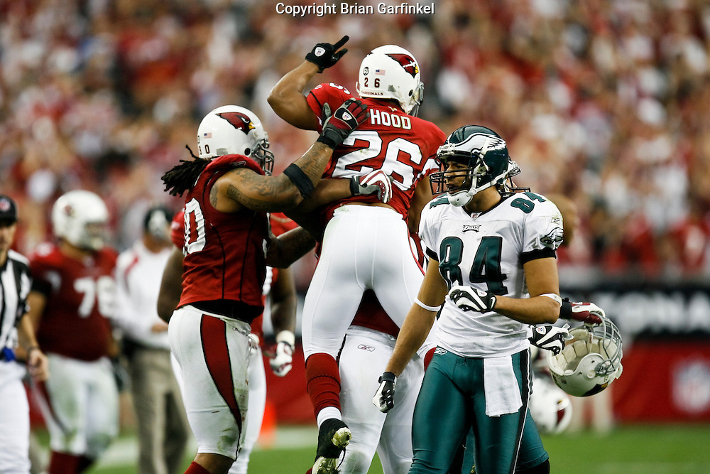 18 Jan 2009: Arizona Cardinals react after a play during the NFC Championship game against the Philadelphia Eagles on January 18th, 2009. The Cardinals won 32-25 at University of Phoenix Stadium in Glendale, Arizona.