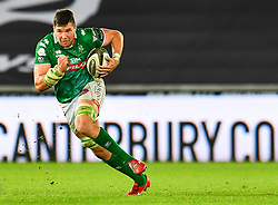 Sebastian Negri of Benetton Treviso in action during todays match<br /> <br /> Photographer Craig Thomas/Replay Images<br /> <br /> Guinness PRO14 Round 4 - Ospreys v Benetton Treviso - Saturday 22nd September 2018 - Liberty Stadium - Swansea<br /> <br /> World Copyright © Replay Images . All rights reserved. info@replayimages.co.uk - http://replayimages.co.uk