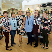08.09. 2017.                             <br /> Launch of  Limerick Racecourse and Keanes Most Stylish Lady. <br /> Pictured at Carrig Donn, The Crescent Shopping Centre were left to right, Cora Hammond, Norma Kelly, Sinead O'Brien, Sinead's Curvy Style, Annette O'Sullivan, Siobhan Hickey and Yvonne Ryan. Picture: Alan Place