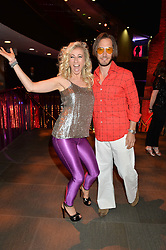 JENNY HALPERN-PRINCE and RYAN PRINCE at a Night of Disco in aid of Save The Children held at The Roundhouse, Chalk Farm Road, London on 5th March 2015.