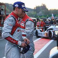 #8, Audi R18 e-tron quattro, Audi Sport Team Joest, driven by Lucas di Grassi, Loic Duval, Oliver Jarvis, FIA WEC 6hrs of Spa 2016, 07/05/2016,