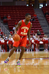 26 November 2016:  Mory Diane during an NCAA  mens basketball game between the Ferris State Bulldogs the Illinois State Redbirds in a non-conference game at Redbird Arena, Normal IL