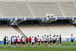October 2, 2018 - Na - Athens, 10/01/2018 - Sport Lisboa e Benfica held the training to adapt to the pitch of the Olympic Stadium in Athens for the game of the second day of the Champions League 2018/2019 against the AEK of Athens. (Credit Image: © Atlantico Press via ZUMA Wire)