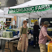 Organic Produce for sale at the Union Square Market in Manhattan