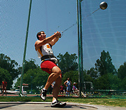 Adam Midles of USC was seventh in the hammer at 216-1 (65.87m) in the NCAA Track & Field Championships at Sacramento State's Hornet Stadium in Sacramento, Calif. on Friday, June 9, 2006.