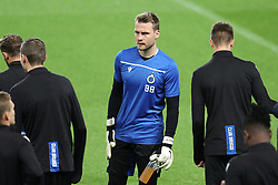 November 5, 2019, Paris, FRANCE: Club's goalkeeper Simon Mignolet pictured during a training session of Belgian soccer team Club Brugge KV, Tuesday 05 November 2019 in Paris, France, in preparation of tomorrow's match against French club Paris Saint-Germain Football Club in the first round of the UEFA Champions League. BELGA PHOTO BRUNO FAHY (Credit Image: © Bruno Fahy/Belga via ZUMA Press)