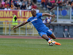 April 7, 2018 - Rome, Italy - Bryan Dabo during the Italian Serie A football match between A.S. Roma and ACF Fiorentina at the Olympic Stadium in Rome, on april 07, 2018. (Credit Image: © Silvia Lore/NurPhoto via ZUMA Press)