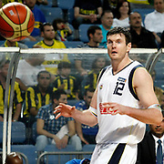 Fenerbahce's Darjus LAVRINOVIC during their Turkish Basketball Legague Play-Off semi final first match Fenerbahce between Efes Pilsen at the Sinan Erdem Arena in Istanbul Turkey on Tuesday 24 May 2011. Photo by TURKPIX