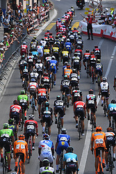 June 17, 2017 - Schaffhausen, Suisse - SCHAFFHAUSSEN, SWISS - JUNE 17 : Illustration picture of the peloton Landscape Bunch Postcard Post card Paysage Carte Postale landschap briefkaart  during stage 8 of the Tour de Suisse cycling race, a stage of 100 kms between Schaffhaussen and Schaffhaussen on June 17, 2017 in Schaffhaussen, Swiss, 17/06/2017 (Credit Image: © Panoramic via ZUMA Press)