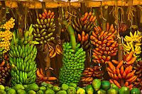 Fruit market, Town of Mosquito Creek, Tanzania