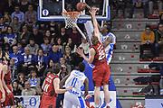 DESCRIZIONE : Eurocup 2015-2016 Last 32 Group N Dinamo Banco di Sardegna Sassari - Cai Zaragoza<br /> GIOCATORE : Jarvis Varnado<br /> CATEGORIA : Schiacciata Sequenza Controcampo<br /> SQUADRA : Dinamo Banco di Sardegna Sassari<br /> EVENTO : Eurocup 2015-2016<br /> GARA : Dinamo Banco di Sardegna Sassari - Cai Zaragoza<br /> DATA : 27/01/2016<br /> SPORT : Pallacanestro <br /> AUTORE : Agenzia Ciamillo-Castoria/L.Canu