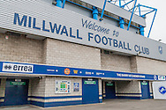 A general view of Millwall FC before the fourth round FA Cup match at The Den, London<br /> Picture by Richard Brooks/Focus Images Ltd 07947656233<br /> 29/01/2017