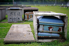 Death, coffins, cemeteries and graveyards