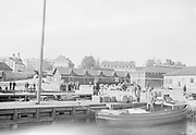 Port area of Tiutisen Finland, 1920s-1930s