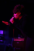 New York, NY-January 26: Recording Artist Ledisi performs  during the Robert Glasper Grammy Joint 2018 featuring the new project called August Greene featuring Common, Robert Glasper and Karriem Riggins held at the Highline Ballroom on January 26, 2018 in New York City.  (Photo by Terrence Jennings/terrencejennings.com)
