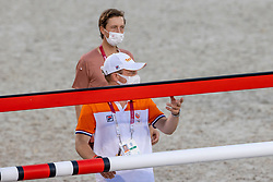 Fuchs Martin, SUI, Greve Willem, NED<br /> Olympic Games Tokyo 2021<br /> © Hippo Foto - Dirk Caremans<br /> 06/08/2021