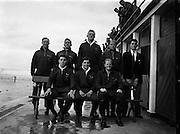 Water Polo - Ireland vs Wales at Blackrock baths, Dublin.27/07/1957,dlr,