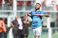 esultanza gol Lorenzo Insigne<br /> Torino 23-09-2018 Stadio Olimpico Grande Torino Football Calcio Serie A 2018/2019 Torino - Napoli Foto Image Sport / Insidefoto