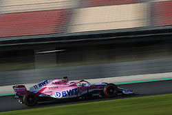 March 6, 2018 - Barcelona, Catalonia, Spain - March 6th, 2018 - Circuit de Barcelona-Catalunya, Montmelo, Spain - Formula One preseason 2018;Sergio Perez of Sahara Force India F1 Team, Force Ind. VJM11 during the installation lap. (Credit Image: © Eric Alonso via ZUMA Wire)
