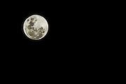 Full Moon on October 8th, 2014