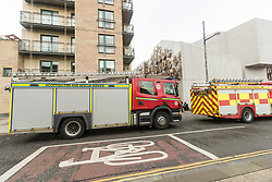 The members block of the Scottish Parliament is evacuated with suspicious packages being sent to two members.