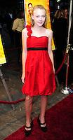 "Dakota Fanning attends screening of ""The Secret Life of Bees"""