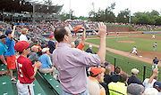 Virginia fans get excited during the game against Bucknell Friday at Davenport Field in Charlottesville, VA. Photo/The Daily Progress/Andrew Shurtleff