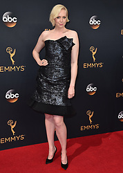 Gwendoline Christie attends the 68th Annual Primetime Emmy Awards at Microsoft Theater on September 18, 2016 in Los Angeles, California. Photo by Lionel Hahn/ABACAPRESS.COM