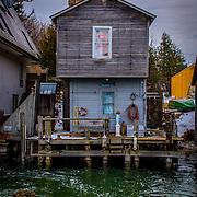 Leland Michigan Fishing Shack