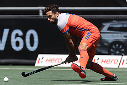 Valentin Verga of The Netherlands during the Champions Trophy finale between the Netherlands and Argentina on the fields of BH&BC Breda on Juli 1, 2018 in Breda, the Netherlands.