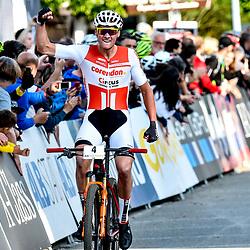 18-05-2018: Wielrennen: WC MTB: Albstadt<br />Mathieu van der Poel wins the shorttrack race WC MTB Albstad Germany