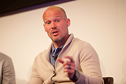 NEWPORT, WALES - Friday, May 20, 2016: Fredrik Ljungberg during the Football Association of Wales' National Coaches Conference 2016 at the Celtic Manor Resort. (Pic by David Rawcliffe/Propaganda)