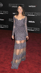 December 10, 2016 - Los Angeles, California, United States - December 10th 2016 - Los Angeles California USA - Actress VANESSA LENGIES    at the World Premiere for ''Rogue One Star Wars'' held at the Pantages Theater, Hollywood, Los Angeles  CA (Credit Image: © Paul Fenton via ZUMA Wire)