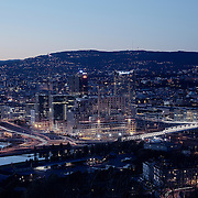 Oslo city by night (Barcode)