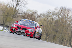 May 4, 2018 - Lexington, Ohio, United States of America - The Classic BMW/ Vess Energy Group BMW M4 GT4 races through the turns at the Mid-Ohio 120 at Mid Ohio Sports Car Course in Lexington, Ohio. (Credit Image: © Walter G Arce Sr Asp Inc/ASP via ZUMA Wire)