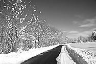 After a snowstorm in Shepherdstown, WV