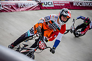 #313 (KIMMANN Niek) NED at Round 4 of the 2019 UCI BMX Supercross World Cup in Papendal, The Netherlands