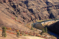 autumn in the Grande Ronde River Canyon, Oregon, USA