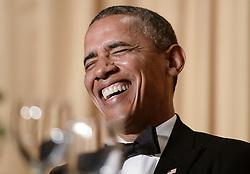 US President Barack Obama speaks at the annual White House Correspondent's Association Gala at the Washington Hilton hotel May 3, 2014 in Washington, DC. Photo by Olivier Douliery/ABACAPRESS.COM    445814_035 Washington Etats-Unis United States