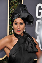 Tracee Ellis Ross at the 75th Golden Globe Awards held at the Beverly Hilton in Beverly Hills, CA on January 7, 2018.<br /><br />(Photo by Sthanlee Mirador)