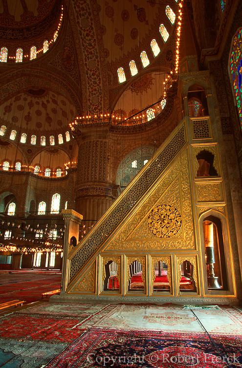 TURKEY, ISTANBUL, OTTOMAN Sultan Ahmet Camii or Blue Mosque