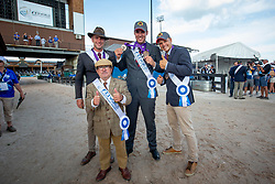 Degrieck Dries, Simonet Edouard, Geerts Glenn, Wentein Mark, BEL, <br /> World Equestrian Games - Tryon 2018<br /> © Hippo Foto - Sharon Vandeput<br /> 23/09/2018
