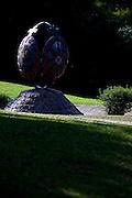 Curitiba_PR, Brasil...Detalhe de uma escultura da Igreja Ucraniana da cidade no Parque Tingui em Curitiba, Parana...An sculpture in Ukrainian church in Tingui Park in Curitiba, Parana...Foto: BRUNO MAGALHAES / NITRO