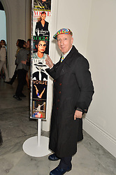 STEPHEN JONES at the Alexandra Shulman and Leon Max hosted opening of Vogue 100: A Century of Style at The National Portrait Gallery, London on 9th February 2016.